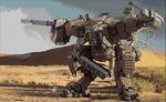 Another Mech done in minecraft pixelart by zhinjio