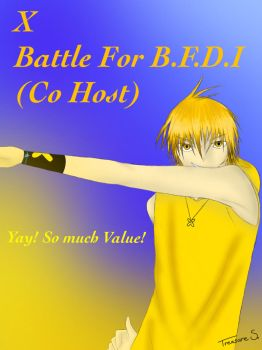 X -human form- Battle for BFDI by LittleMissTreasure