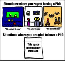 PhD Life by ethicistforhire