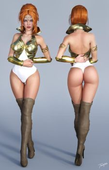 Character Reference Teela by tiangtam