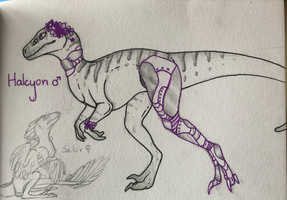 Rory | Dinosaur babies by Cosmic-Cola