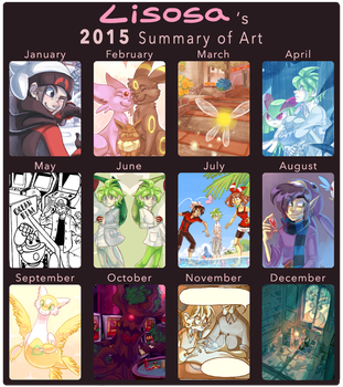 2015 Summary of Art by Lisosa