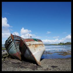 The Boats of Salen by Caelitha
