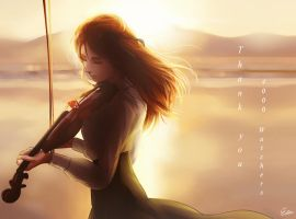 Sunset (Thank you 4000 Watchers) by Esther-Shen