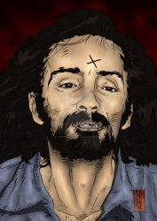Charles Manson - Artwork 6 by The-Real-NComics