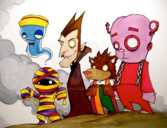 GENERAL MILLS CEREAL MOnSTERS by UMINGA