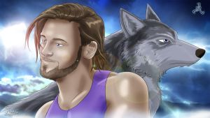 A Capetown Wolf in WWE by Roselyne777