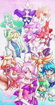 We are the Star Guardians!! by qtmochi