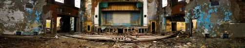 Abandoned Theatre by cari