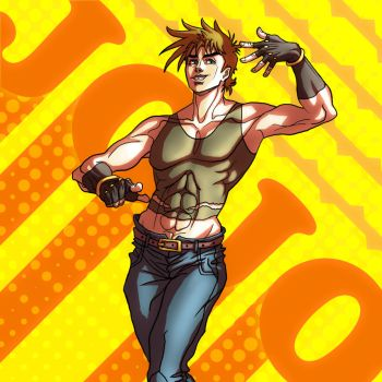 Joseph Joestar by xX-Mr-No-Name-Xx