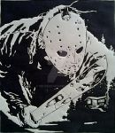 Jason Voorhees Comic Art by Melski83