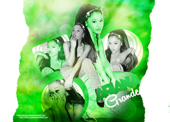 |Ariana|Grande|Green|Nature|*Yoe*| by YoeComeGalletas