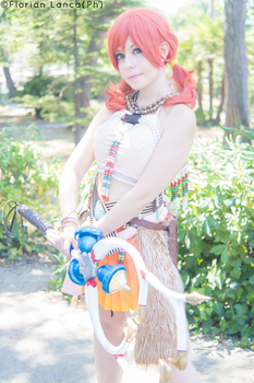 Oerba Dia Vanille Cosplay by Bexxin