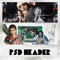 +PSD HEADER PACK by BoyKatyCat