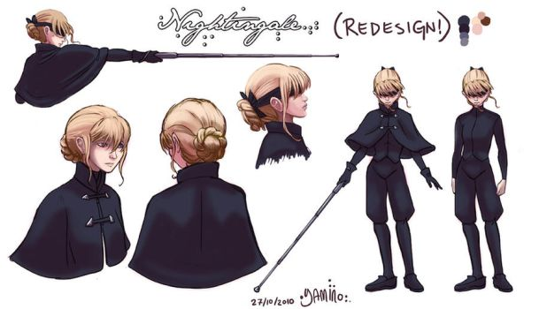 Nightingale Costume Redesign by Yamino