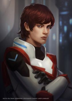 KEITH VOLTRON FANART by andyliongart