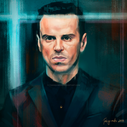 Andrew Scott | Jim Moriarty | Sherlock BBC