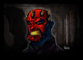 Darth Maul Paints by MRHaZaRD