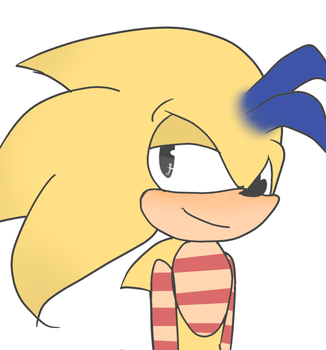 Thunder the Hedgehog by sonamypaintlover