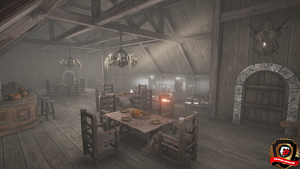 Unreal Engine 4 Old Tavern by DaminDesign