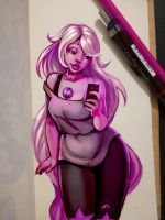 Amethyst by AllyEdFrown
