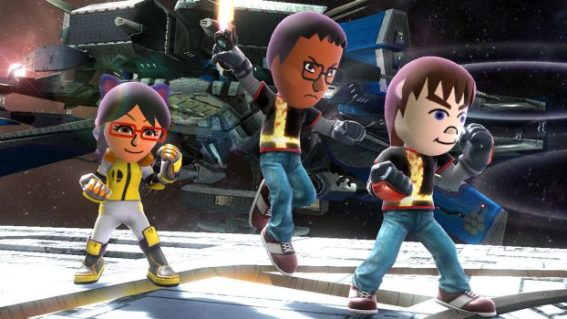 Mii Deviant Fighters #17 by TomodachiSmash
