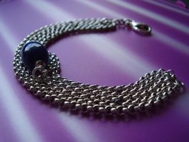 Bracelet with stone in silver by LARvonCL