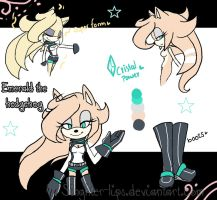 Emerald ref by Singhter-lips