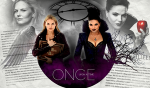 Once Upon A Time - Emma Swan and Evil Queen by Panchecco