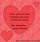 Valentine for someone you admirer by gfhditty