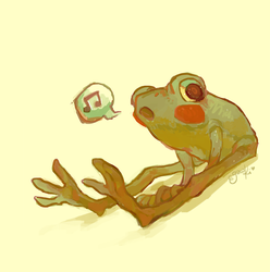 froggin' around by gawki