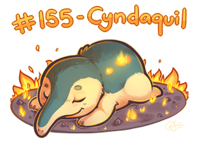 Pokemon #155 - Cyndaquil