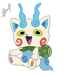Komasan yokai watch by MarianFlutterwott