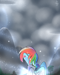 My heart is beating from me by AlenD-nyan