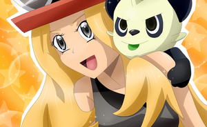 Serena and Pancham by Riadorana