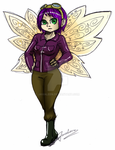 Wow Gnome Pixie by JavaLeen