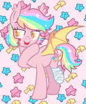 Mlp Paper Stars by CandyCrusher3000