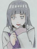 Hinata colored by CoolFroggy90