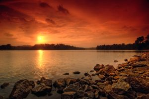 Fiery Sunset 1 by Shooter1970