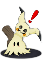 A wild Mimikyu appeared! by OtakuuArt