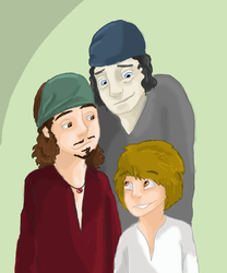 Three Generations by wolf-pirate55