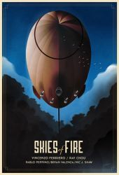 Skyes Of Fire Poster by rodolforever