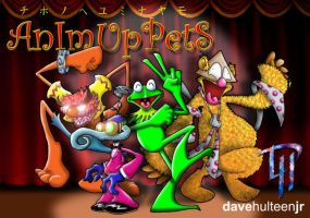 The AniMuppets by dhulteen