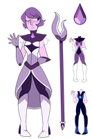 Purple Agate Gemsona Updated Ref by starridge