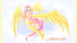 Fluttershy by moon-valkyrie