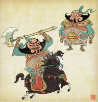 Story of Tang Dynasty by benryyou
