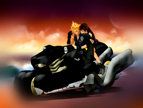 Cloud and Tifa time by IntenseObservation