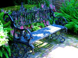 Old World Bench by shutter-bug664