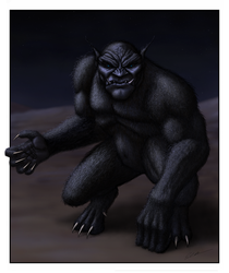 The Black Ogre of Genetrix by paulrich