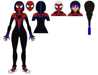 The Impossible Spider-Woman ~ MK-I Spidersuit+Bio by AJ-Prime